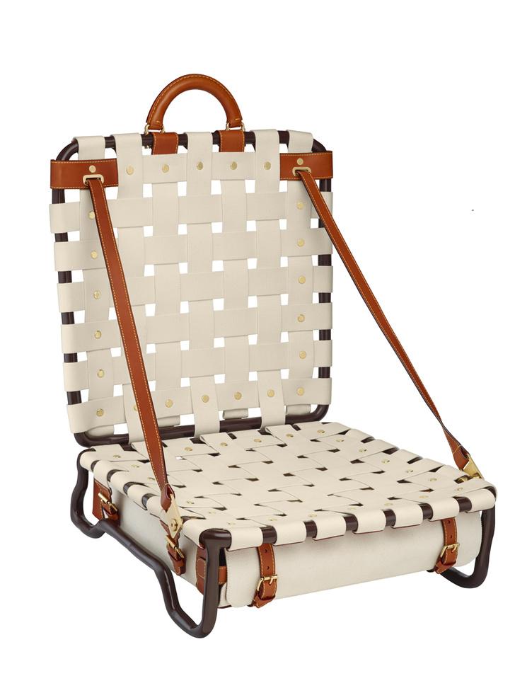 Складное пляжное кресло, Louis Vuittonе пляжное кресло, Louis Vuitton