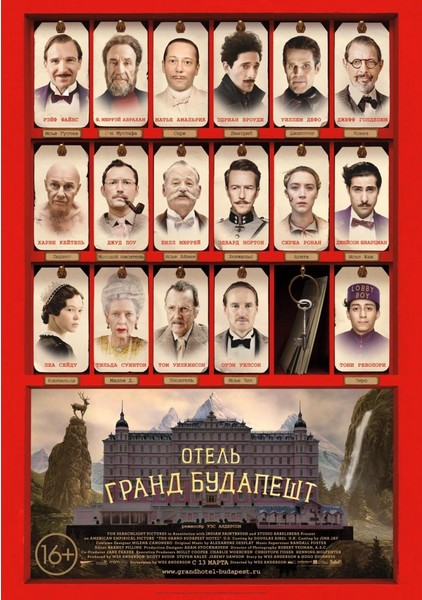 «Отель «Гранд Будапешт» (The Grand Budapest Hotel)