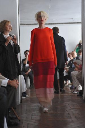 Показ Adeline Andre коллекции сезона Осень-зима 2009-2010 года Haute couture - www.elle.ru - Подиум - фото 87052