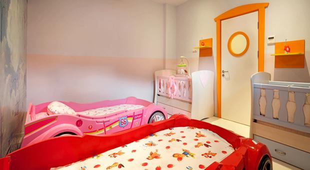 Спальня для малышей мини-клуба Everland Q