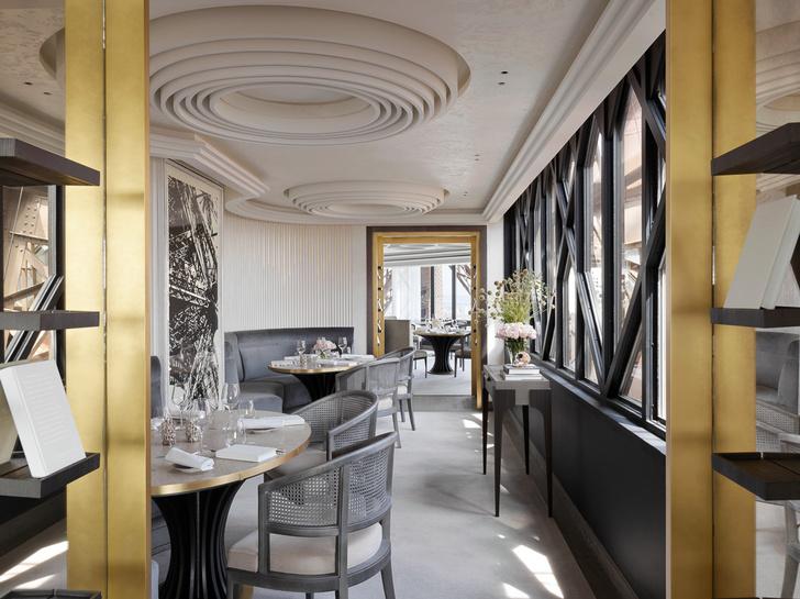 Возвращение легенды: ресторан  Le Jules Vernе на Эйфелевой башне (фото 4)