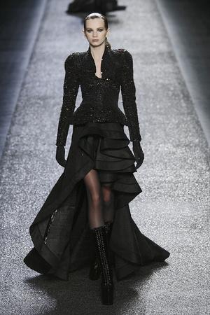 Показы мод Nina Ricci Осень-зима 2009-2010 | Подиум на ELLE - Подиум - фото 3116