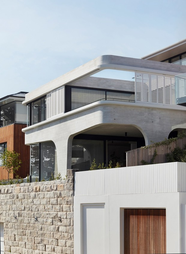 Дом из бетона и стали на побережье Австралии (фото 0)