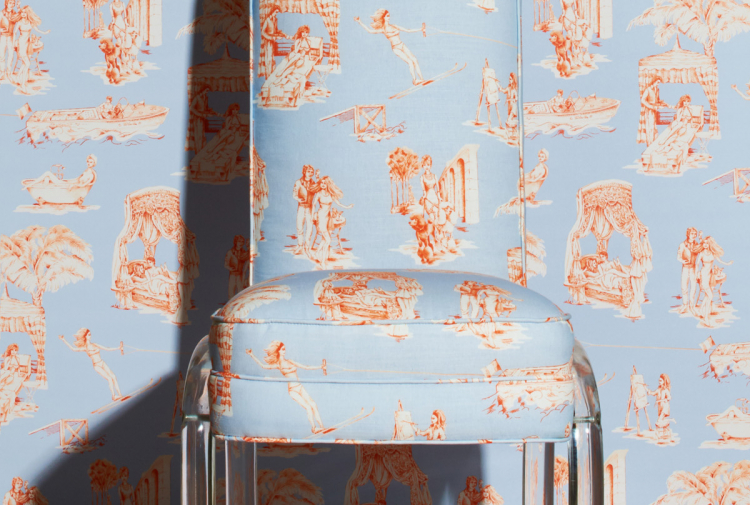 Новая коллекция обоев и текстиля Саши Бикофф (галерея 8, фото 0)