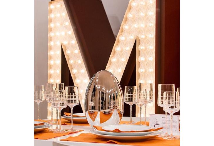 Парижский шик: объекты для свадебной сервировки от Lalique и Christofle