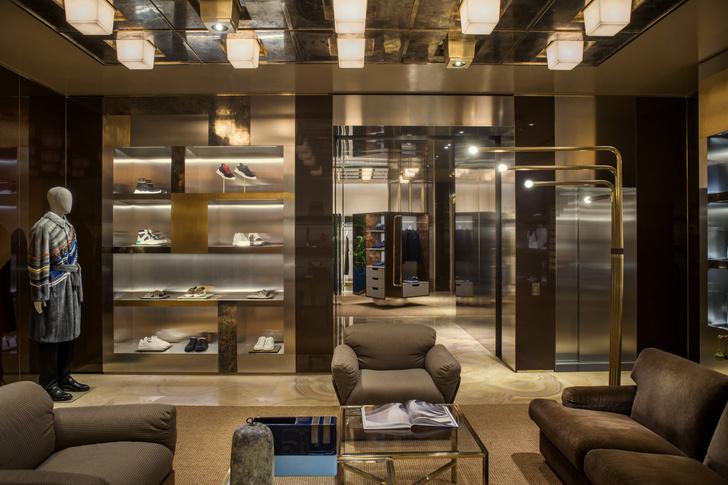 Fendi Монте-Карло: новый бутик по проекту Dimore Studio (фото 11)