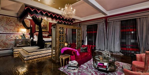 Тайная комната: лучшие спальни в звездных домах (фото 9)