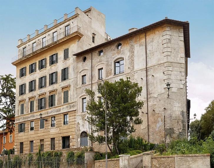 Необычный отель от Жана Нувеля The Rooms of Rome (фото 2)