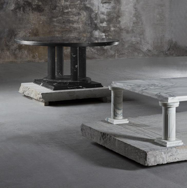 Выставка мебели Карла Лагерфельда в Париже (фото 3)