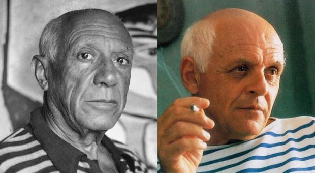 Энтони Хопкинс в образе Пабло Пикассо