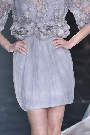 Показ Elie Saab коллекции сезона Весна-лето 2010 года Haute couture - www.elle.ru - Подиум - фото 138908