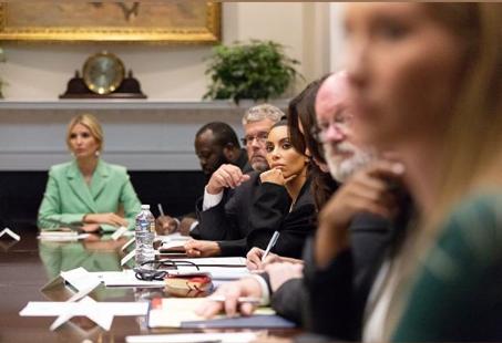 Иванка Трамп и Ким Кардашьян решают судьбу тюремной реформы (фото 1.1)