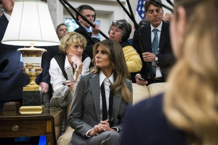Образ дня: Мелания Трамп в Ralph Lauren фото [8]