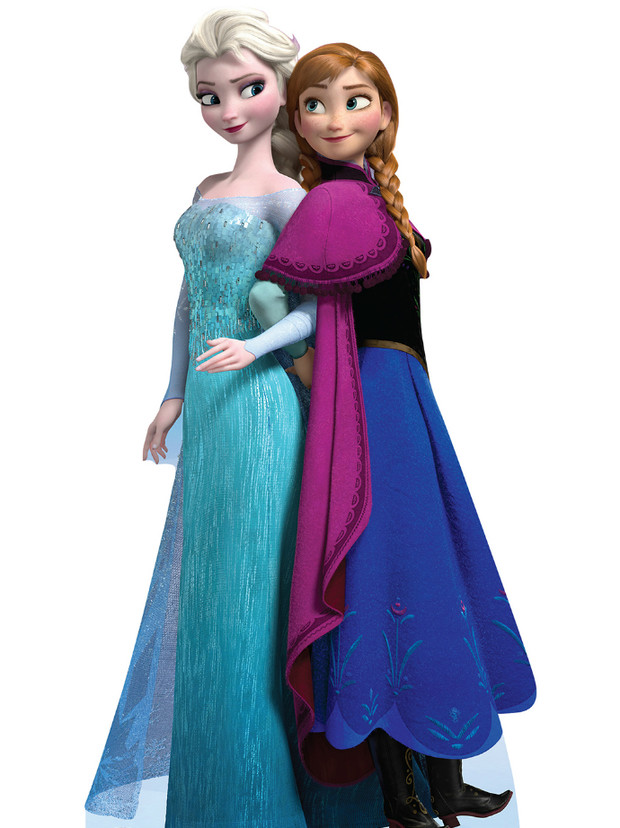Принцессы Анна и Эльза