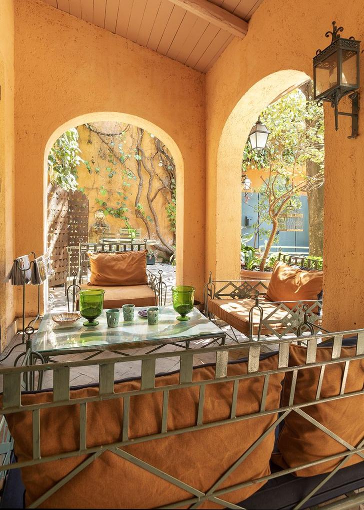 Арт-резиденция с живописным садом в Риме (фото 6)