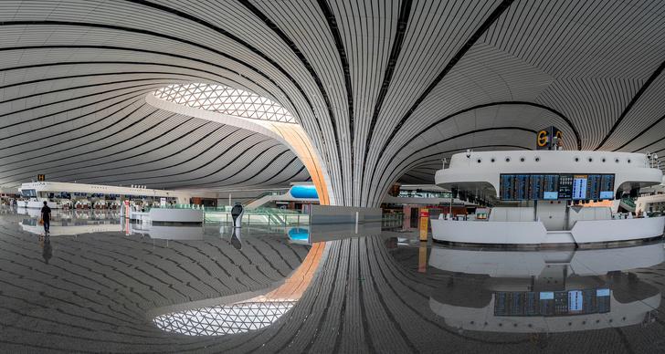 В Пекине открылся новый аэропорт по проекту Захи Хадид (фото 7)