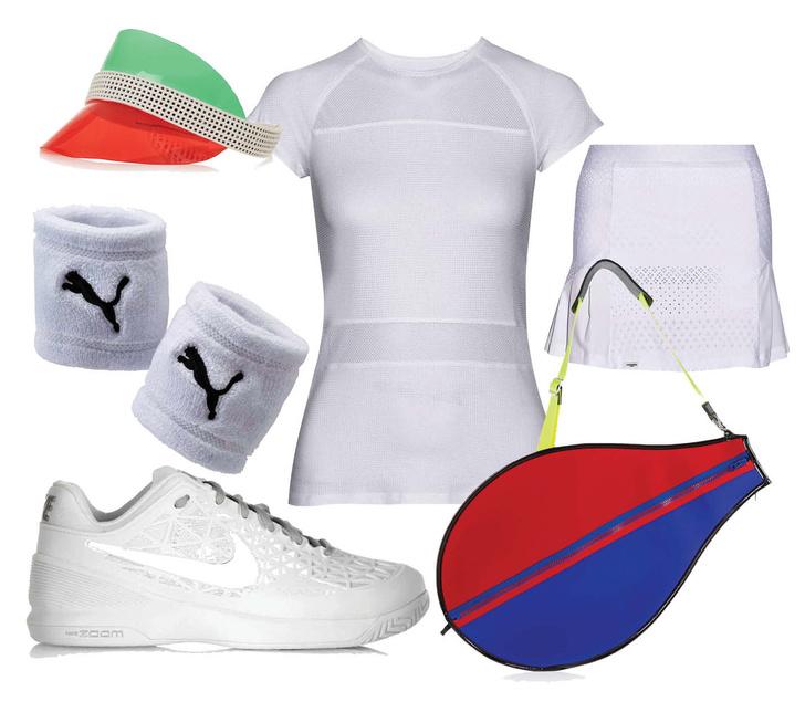 Что надеть на теннисный корт