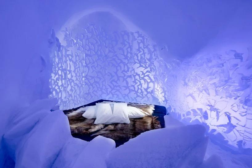 В Швеции открылся ледяной отель (галерея 6, фото 2)