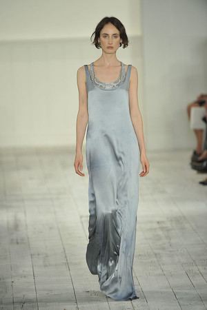 Показы мод Ralph Lauren Весна-лето 2010   Подиум на ELLE - Подиум - фото 3043