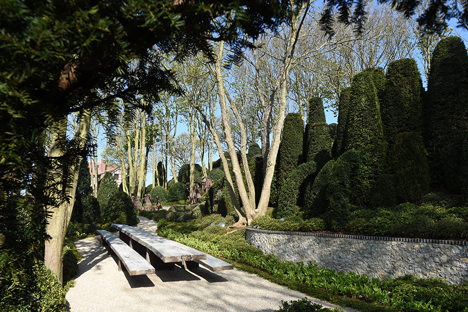 Сад в Этрета - работа русского ландшафтного архитектора фото [4]