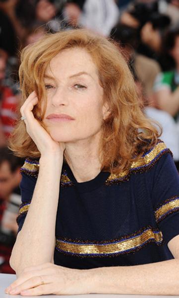 Председатель жюри Изабель Юппер