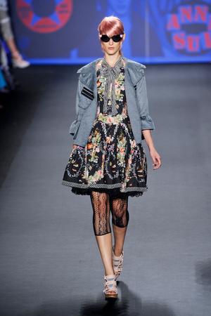 Показы мод Anna Sui Весна-лето 2013 | Подиум на ELLE - Подиум - фото 1212