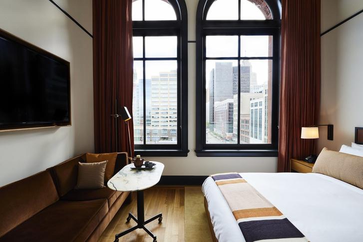 Уютный Shinola Hotel в Детройте (фото 6)
