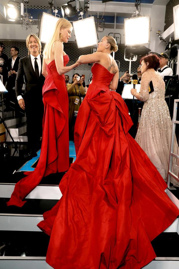 Пять платьев красного цвета на красной дорожке «Золотого глобуса-2020» (фото 1)