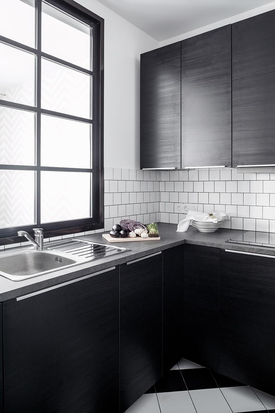 40 проектов кухонь в маленьких квартирах (галерея 0, фото 4)