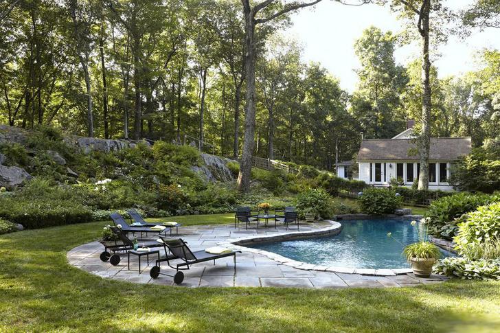 15 восхитительных проектов бассейнов для загородного дома (фото 10)
