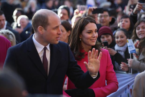 Принц Уильям и Кейт Миддлтон в Ковентри (фото 2)