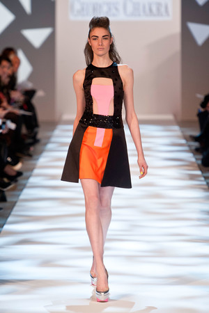 Показ Georges Chakra коллекции сезона Весна-лето 2013 года haute couture - www.elle.ru - Подиум - фото 480708