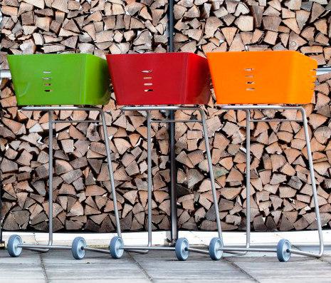 Мобильные садовые грили Act, Attika, www.attika.ch