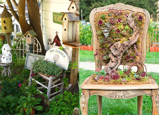 Сад огород мебель своими руками