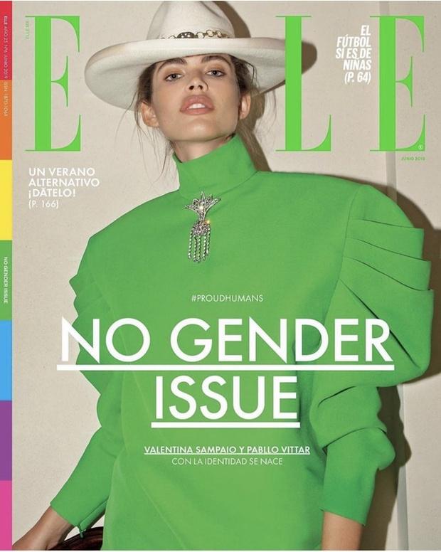 Итоги лета: модель — трансгендер Валентина Сампайо (фото 1)