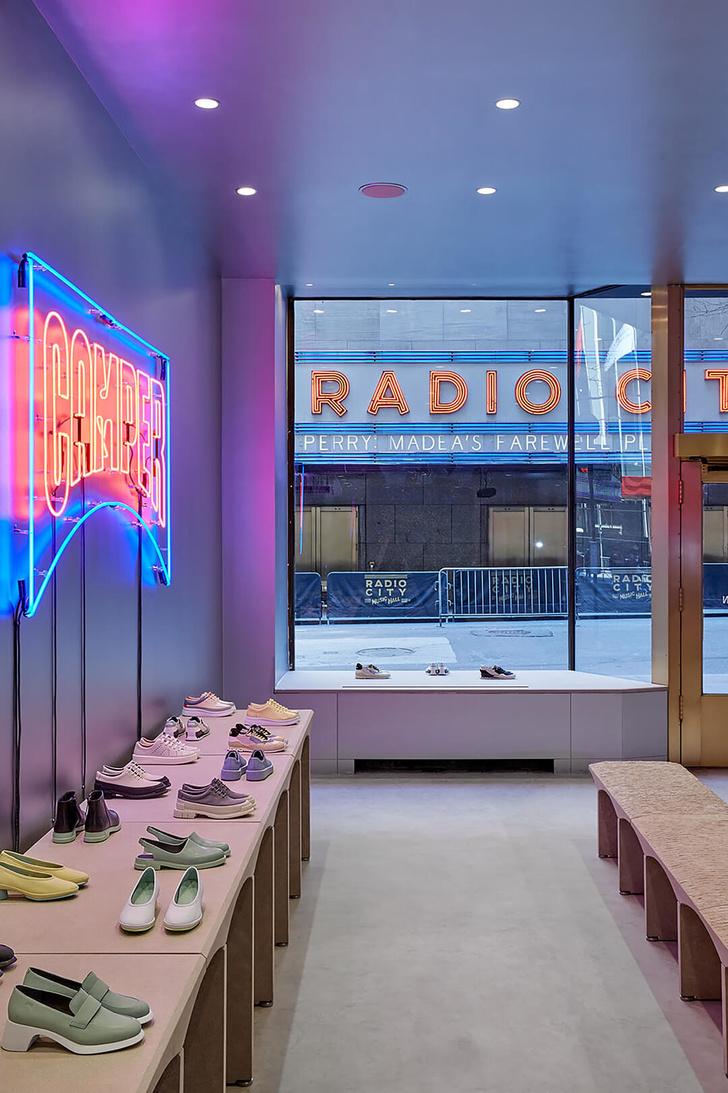 Нью-йоркский бутик Camper по проекту Кенго Кумы (фото 7)