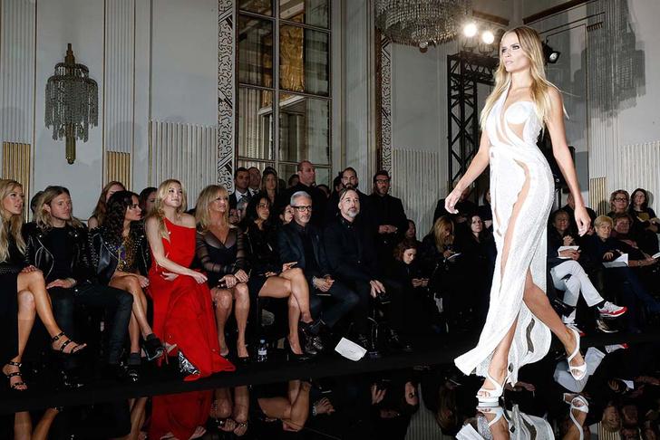 Гости показа Atelier Versace