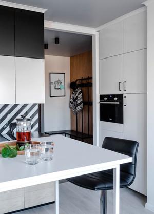 """Квартира 41 м²: проект студии """"Точка дизайна"""" (фото 0)"""