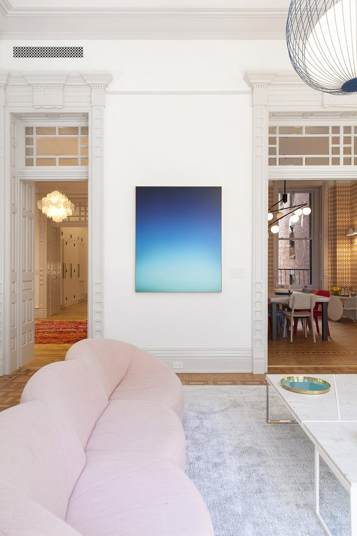 Манхэттенская квартира в доме XIX века (фото 6)