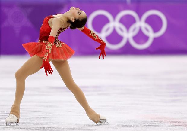 Алина Загитова олимпиада выступление фото