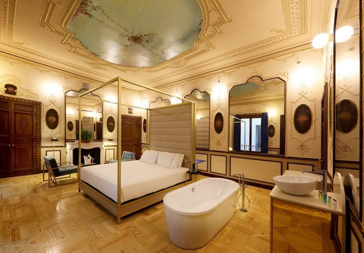 Отель с нетрадиционной ориентацией в Мадриде (фото 8)
