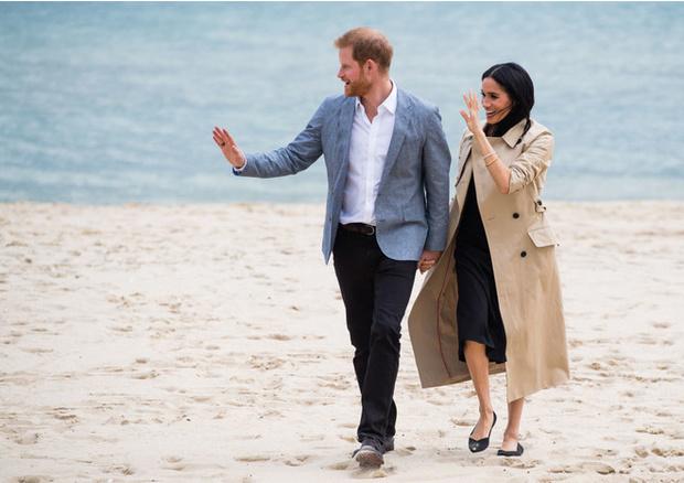 Как Меган Маркл и принц Гарри проводят время в Калифорнии (фото 1)
