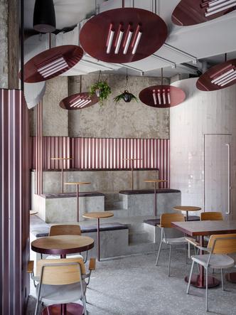 Rare Pastrami Bar по проекту Crosby Studios  в Москве (фото 2.1)