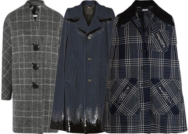 Выбор ELLE: пальто Balenciaga, Marc Jacobs, пончо Miu Miu