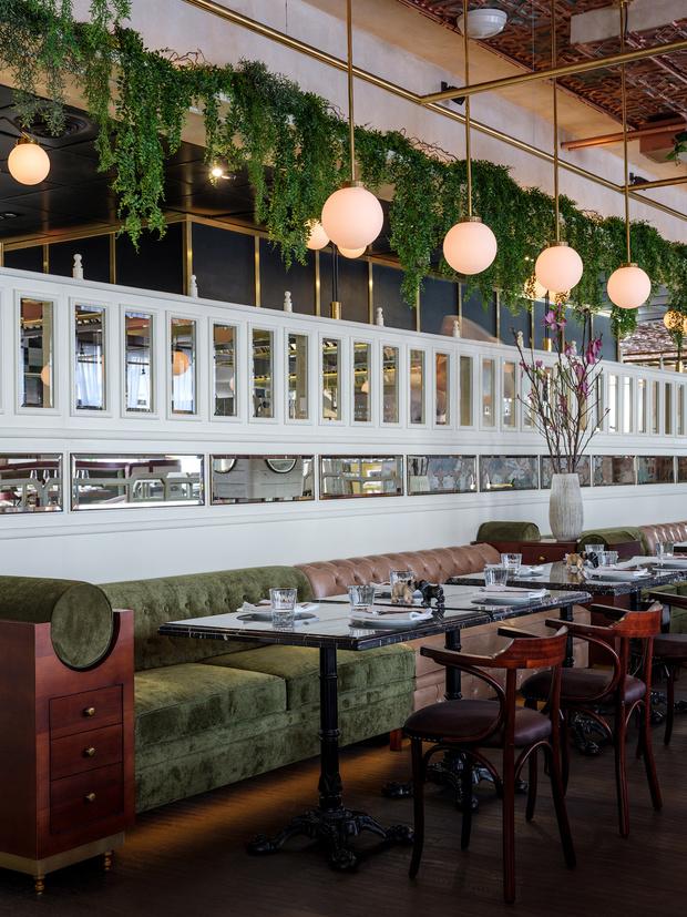 Ресторан Buro в ЦУМе: проект NB Studio (фото 6)