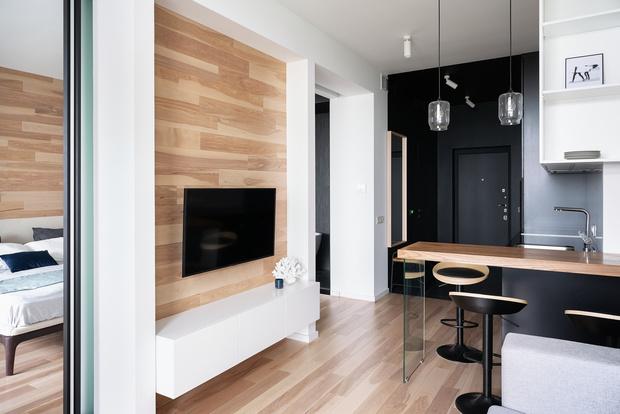 Минималистичная квартира 54 м² в Химках (фото 9)