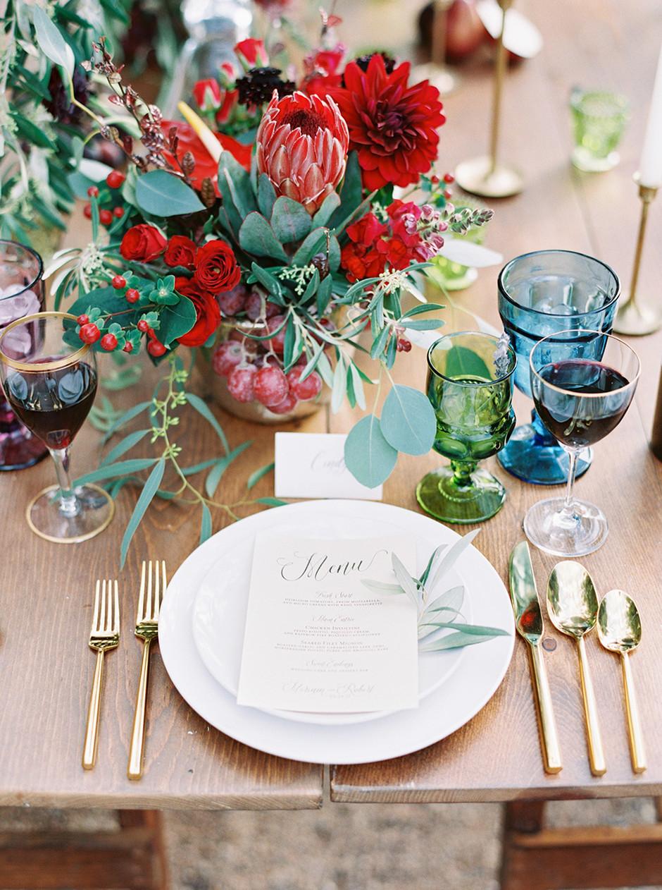 20 идей для сервировки и декора свадебного стола (галерея 1, фото 5)