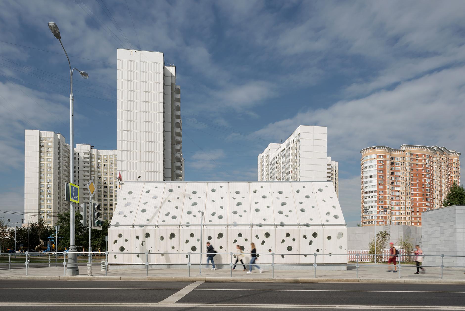 Пусть всегда будет солнце! Станция метро «Солнцево» по проекту Nefa Architects (галерея 7, фото 2)