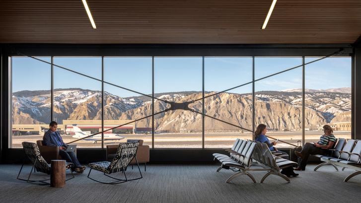 Новый дизайн аэропорта в Колорадо (фото 0)