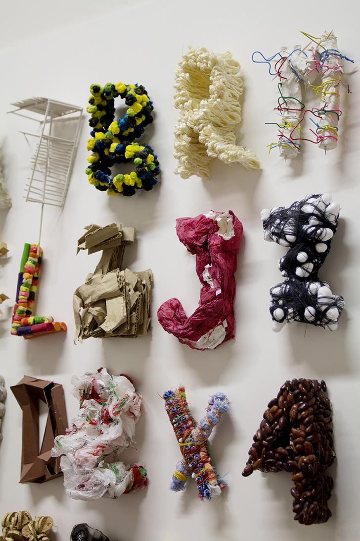 Детские работы, созданные в рамках программы «Алфавит 3D», 2011 год.